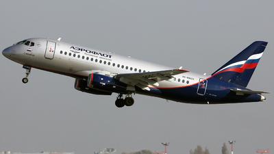 A picture of RA89023 - Sukhoi Superjet 10095B - Aeroflot - © Bartosz Dragan