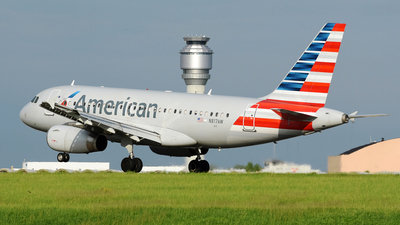 N817AW - Airbus A319-132 - American Airlines