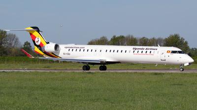 A picture of 5XEQU - Mitsubishi CRJ900 - Uganda Airlines - © Sandra
