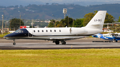 LX-DEC - Cessna 680 Citation Sovereign - Private