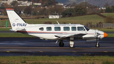 G-FNAV - Piper PA-31-350 Navajo Chieftain - Flight Calibration Services (FCS)