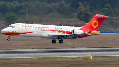 A picture of B602A - Comac ARJ21700 - Chengdu Airlines - © Ohara Mari