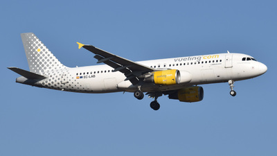 EC-LAB - Airbus A320-214 - Vueling
