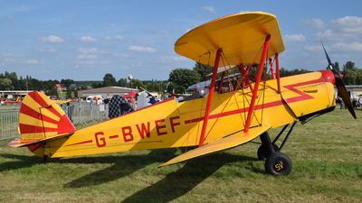 G-BWEF - Stampe and Vertongen SV-4C - Private