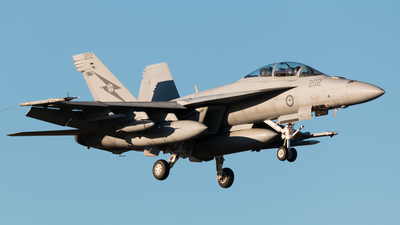 A44-202 - Boeing F/A-18F Super Hornet - Australia - Royal Australian Air Force (RAAF)