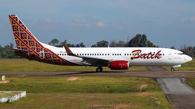 A picture of PKLDF - Boeing 7378GP - Batik Air - © Marthunis