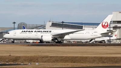 A picture of JA869J - Boeing 7879 Dreamliner - Japan Airlines - © Yoshiharu Ozaki