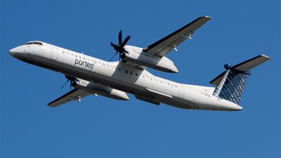 A picture of CGKQC - De Havilland Canada Dash 8400 - Porter Airlines - © RZ