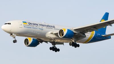 A picture of URGOA - Boeing 7772Q8(ER) - Ukraine Int. Airlines - © Aaron Miles