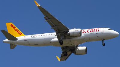 A picture of TCNBA - Airbus A320251N - Pegasus Airlines - © Furkan Borakazi
