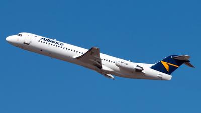 VH-UQF - Fokker 100 - Alliance Airlines