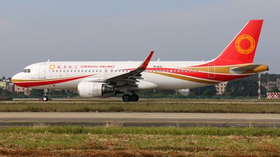 B-1631 - Airbus A320-216 - Chengdu Airlines