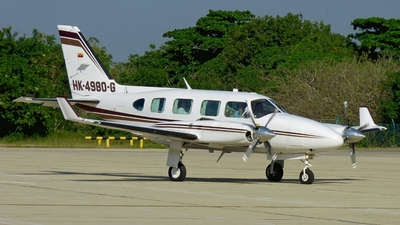 HK-4980-G - Piper PA-31-325 Navajo C/R - Private