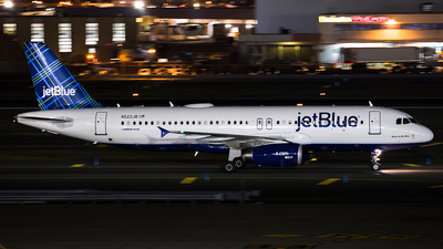 N523JB - Airbus A320-232 - jetBlue Airways