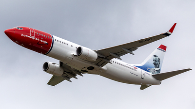 A picture of SERRY - Boeing 7378JP - Norwegian - © Markus Buttinger