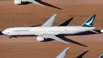 A picture of BHNK - Boeing 777367 - Cathay Pacific - © Rory Delaney