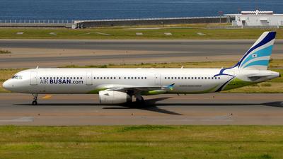 HL7712 - Airbus A321-231 - Air Busan