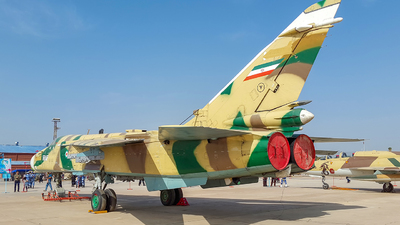 3-6861 - Sukhoi Su-24M Fencer - Iran - Air Force