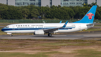 A picture of B7971 - Boeing 73781B - China Southern Airlines - © Bannis