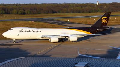 N626UP - Boeing 747-84AF - United Parcel Service (UPS)