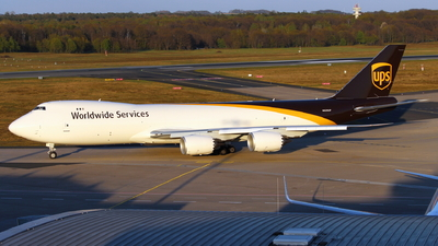 A picture of N626UP - Boeing 7478F - UPS Airlines - © Marcel Schmidt