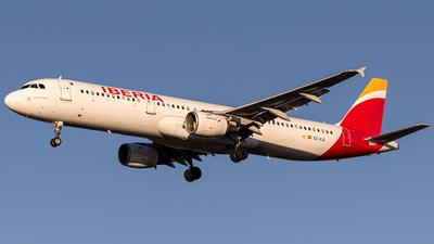 EC-ILO - Airbus A321-211 - Iberia