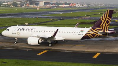 VT-TQD - Airbus A320-251N - Vistara