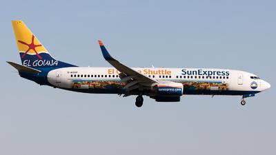 D-ASXP - Boeing 737-8HX - SunExpress Germany