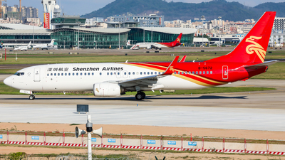 A picture of B5672 - Boeing 73787L - Kunming Airlines - © Dandelionlv125
