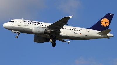D-AKNJ - Airbus A319-112 - Lufthansa