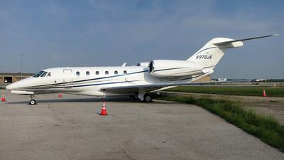 N970JS - Cessna 750 Citation X - Private