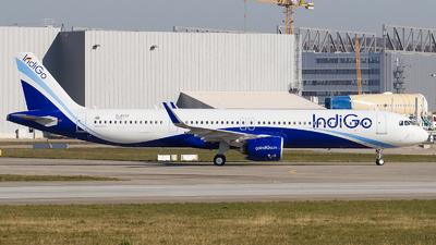 D-AVZZ - Airbus A321-271NX - IndiGo Airlines