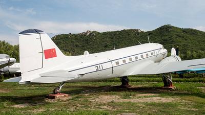 311 - Lisunov Li-2 - CNAC - Zhejiang Airlines