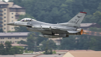 88-0540 - General Dynamics F-16C Fighting Falcon - United States - US Air Force (USAF)