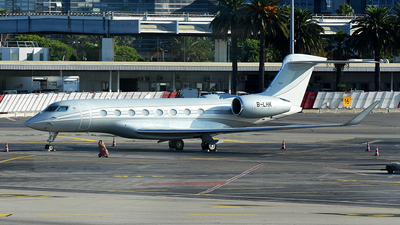 B-LHK - Gulfstream G650ER - Private