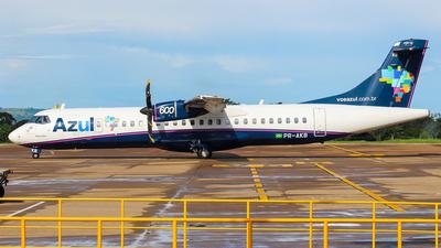 PR-AKB - ATR 72-212A(600) - Azul Linhas Aéreas Brasileiras