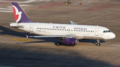 B-MAN - Airbus A319-132 - Air Macau