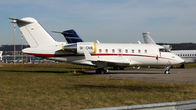 9H-OWL - Bombardier CL-600-2B16 Challenger 605 - Private