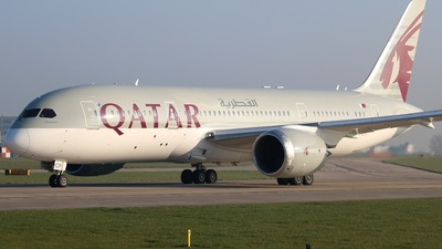 A7-BCP - Boeing 787-8 Dreamliner - Qatar Airways