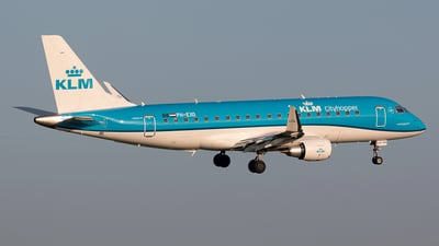 PH-EXO - Embraer 170-200STD - KLM Cityhopper