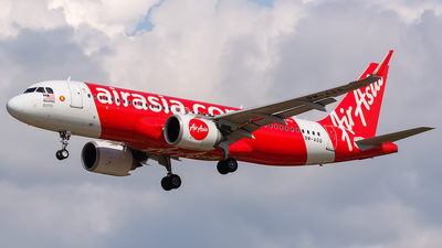 A picture of 9MAGQ - Airbus A320251N - AirAsia - © Hoo Jiong Sheng