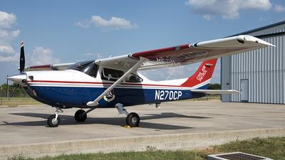 A picture of N270CP - Cessna 182T Skylane - Civil Air Patrol - © Bobby Allison