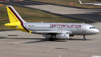 D-AGWP - Airbus A319-132 - Germanwings