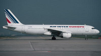 F-GHQR - Airbus A320-211 - Air Inter Europe