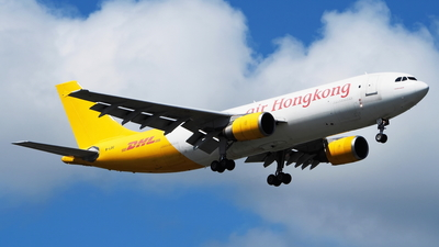 A picture of BLDC - Airbus A300F4605R - DHL - © toeychincha