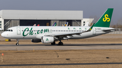 A picture of B6863 - Airbus A320214 - Spring Airlines - © Amyritter-Lv
