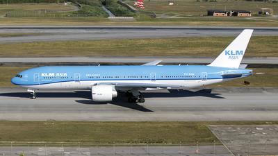 PH-BQN - Boeing 777-206(ER) - KLM Asia