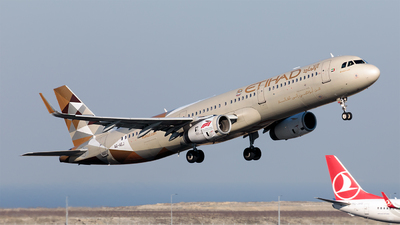 A picture of A6AEJ - Airbus A321231 - Etihad Airways - © Ömür Sadikoglu