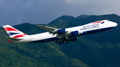 G-GSSD - Boeing 747-87UF - British Airways World Cargo (Global Supply Systems)