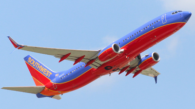 N8631A - Boeing 737-8H4 - Southwest Airlines
